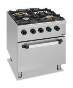 Gasherd mit Ofen für Gastronomie günstig kaufen
